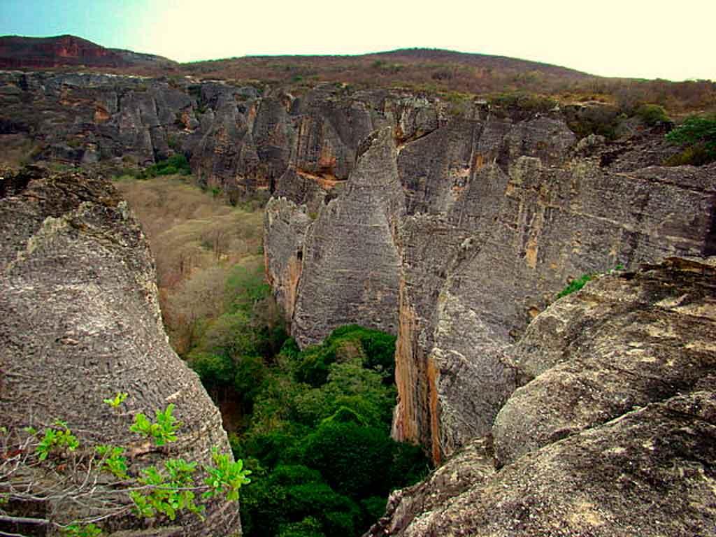 Serra da Capivara Baixão das andorinhas
