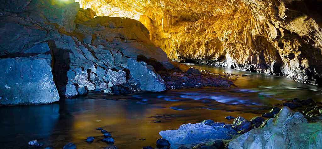 Terra Ronca cachoeiras