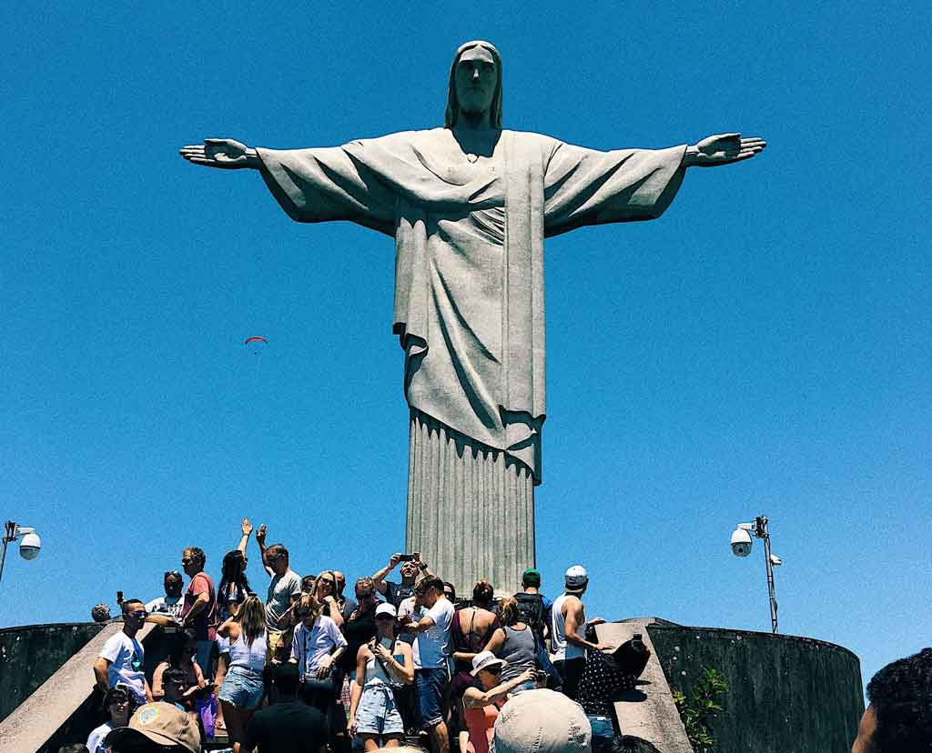 Cristo Redentor Ingresso a pé