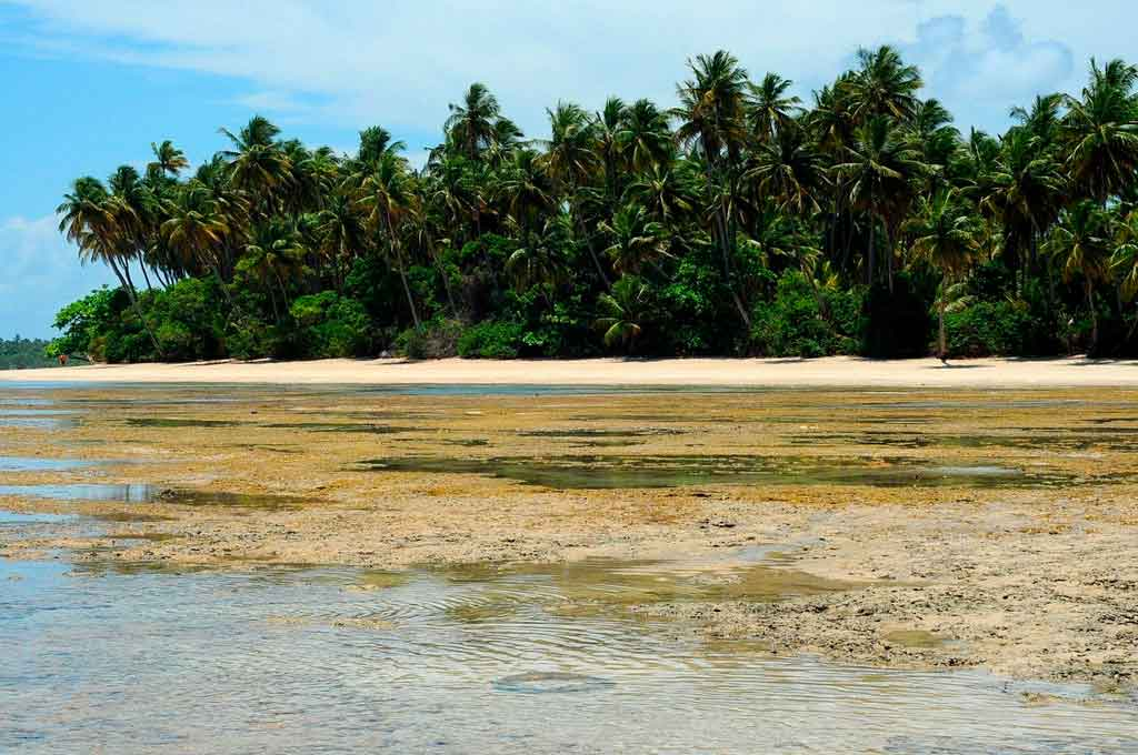 Ilha de boipeba onde se localiza