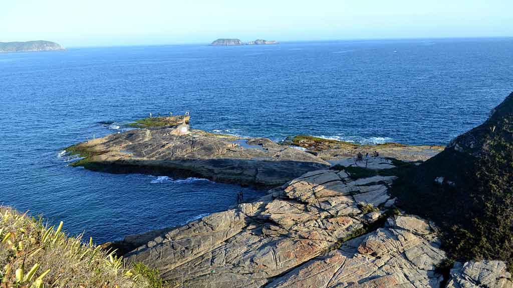 Ilha do Japones Cabo Frio morro do arpoador