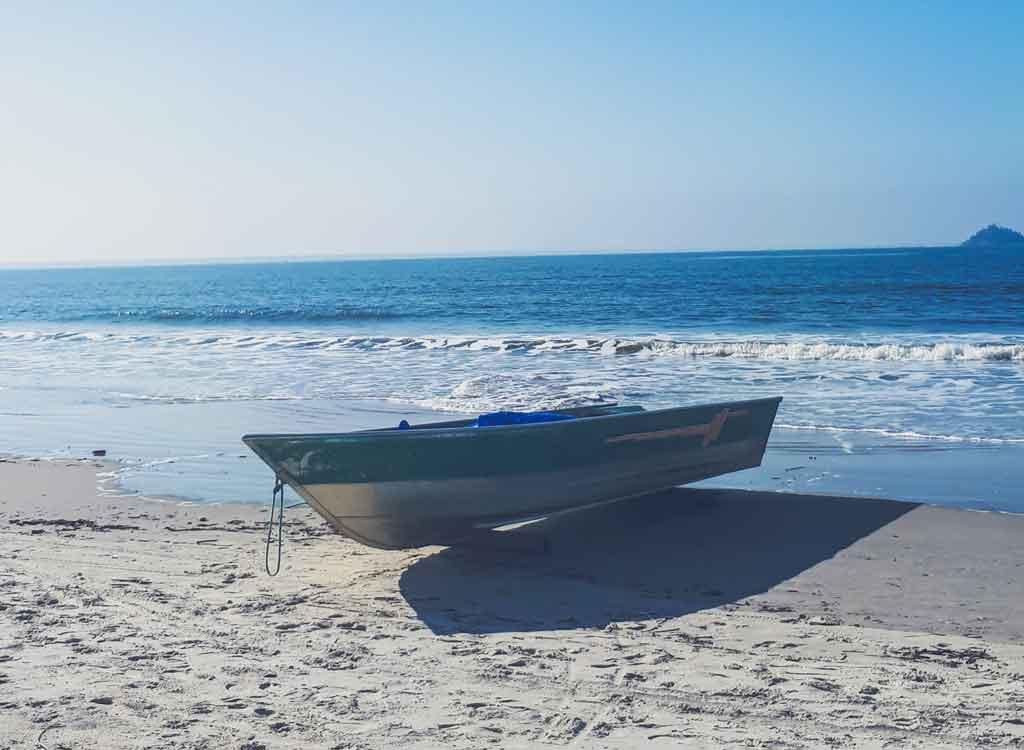 Ilha do Mel Paraná praia de fora