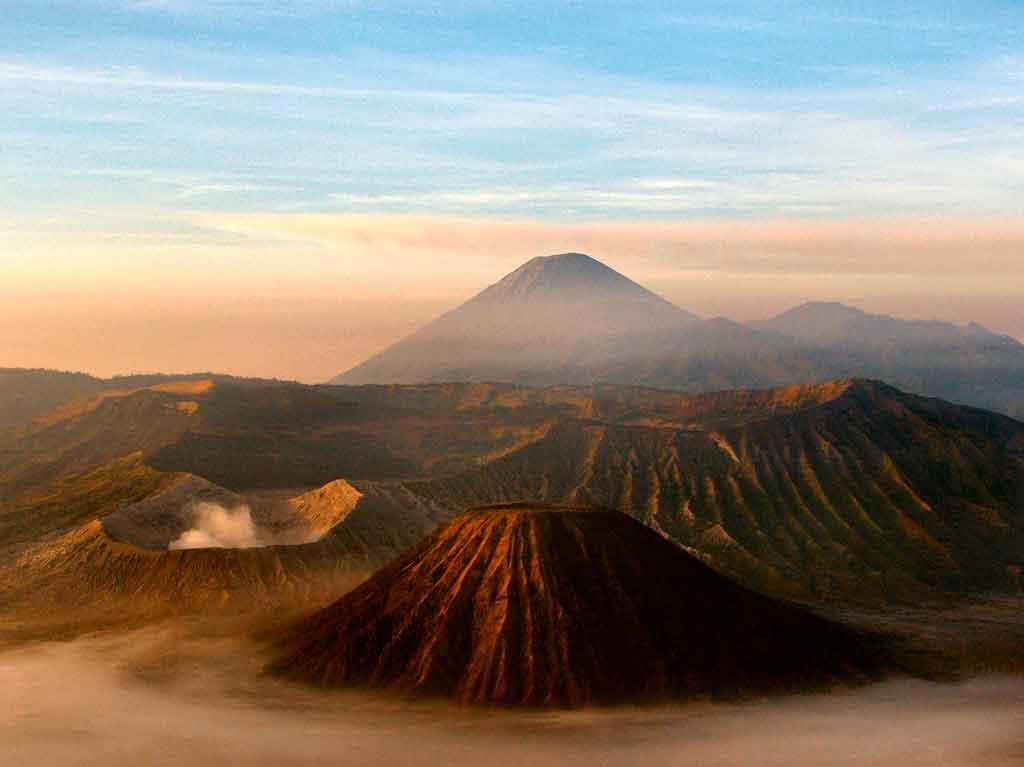 Indonésia Turismo monte bromo