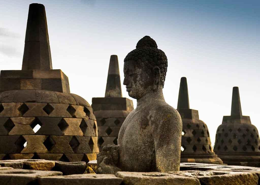 Indonésia Turismo Templo Borobudur