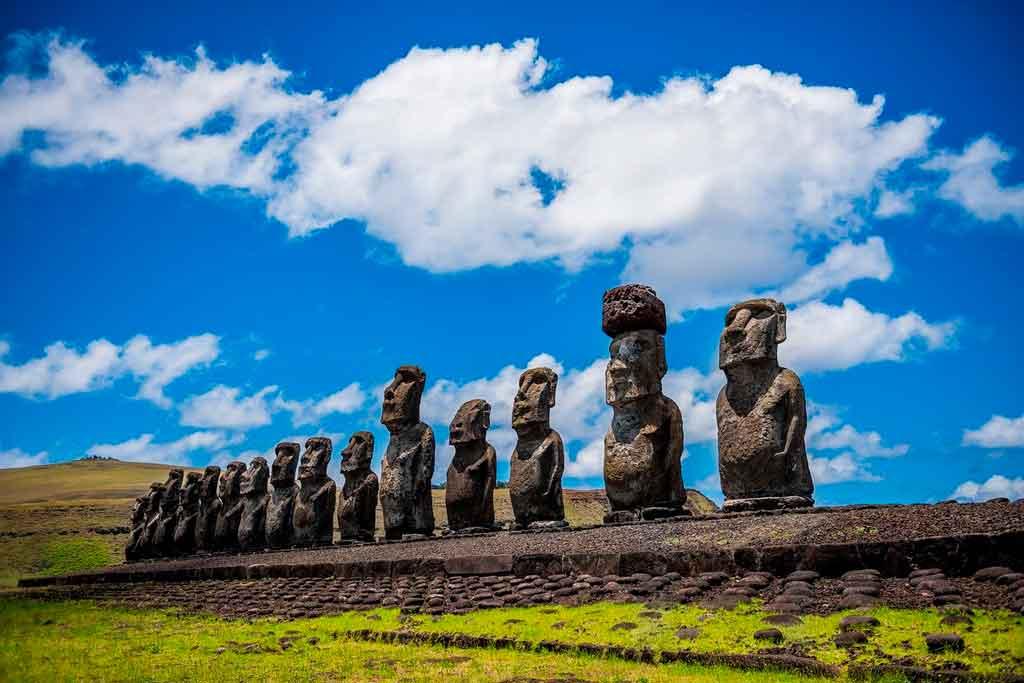 Patrimônios da Humanidade ilha de páscoa