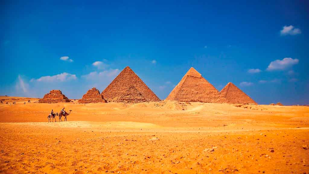 Patrimônios da Humanidade pirâmides de gizé