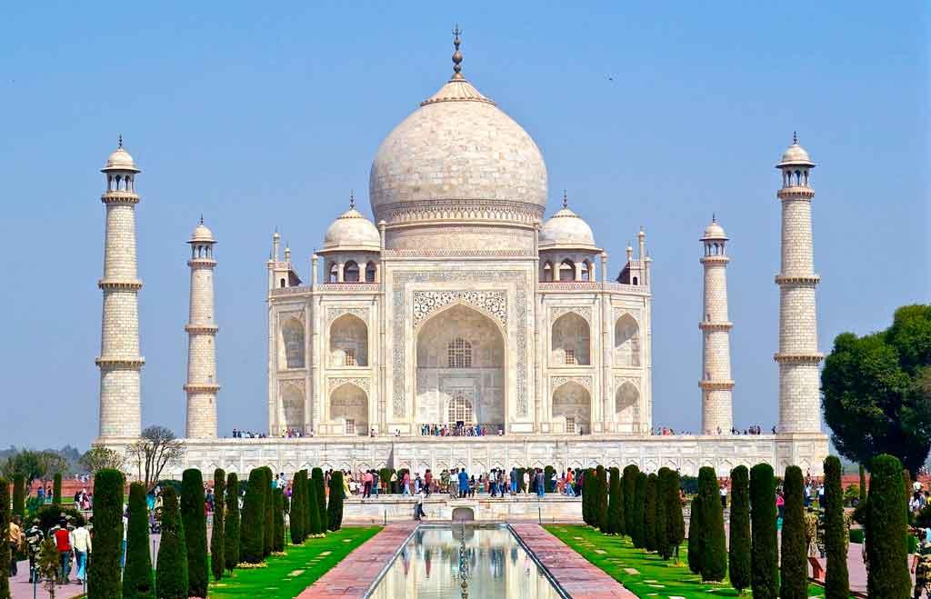 Patrimônios da Humanidade Taj Mahal