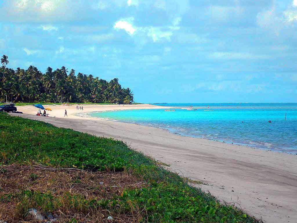Praias de Antunes onde ficar