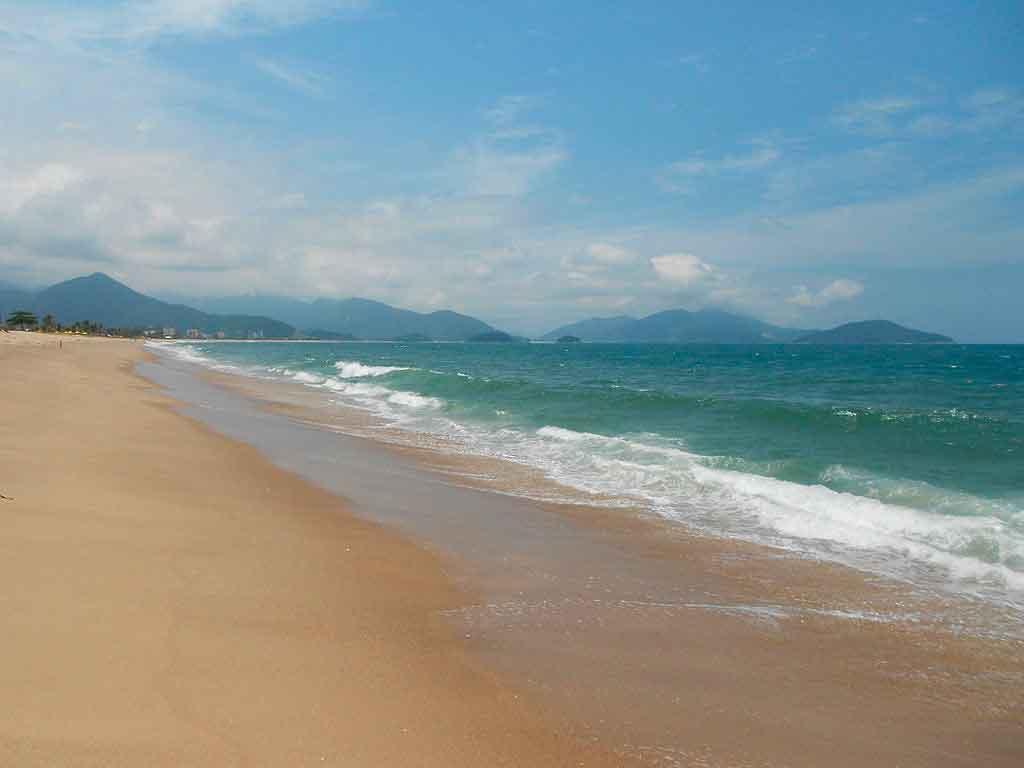 Praias de Caraguatatuba Praia de Capricórnio