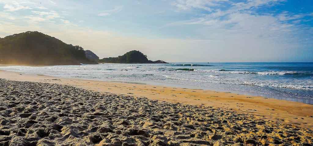 Praias de Guarujá praia de pernambuco