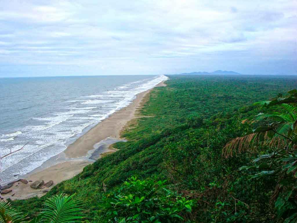Praias de São Sebastião Jureia