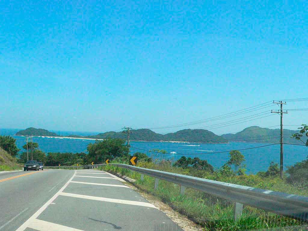 Praias de São Sebastião onde fica