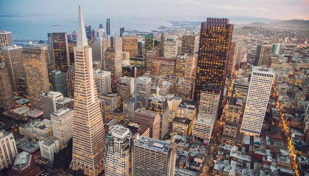 São Francisco EUA fica na California