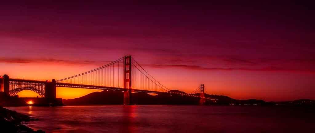 São Francisco EUA Golden Gate Bridge
