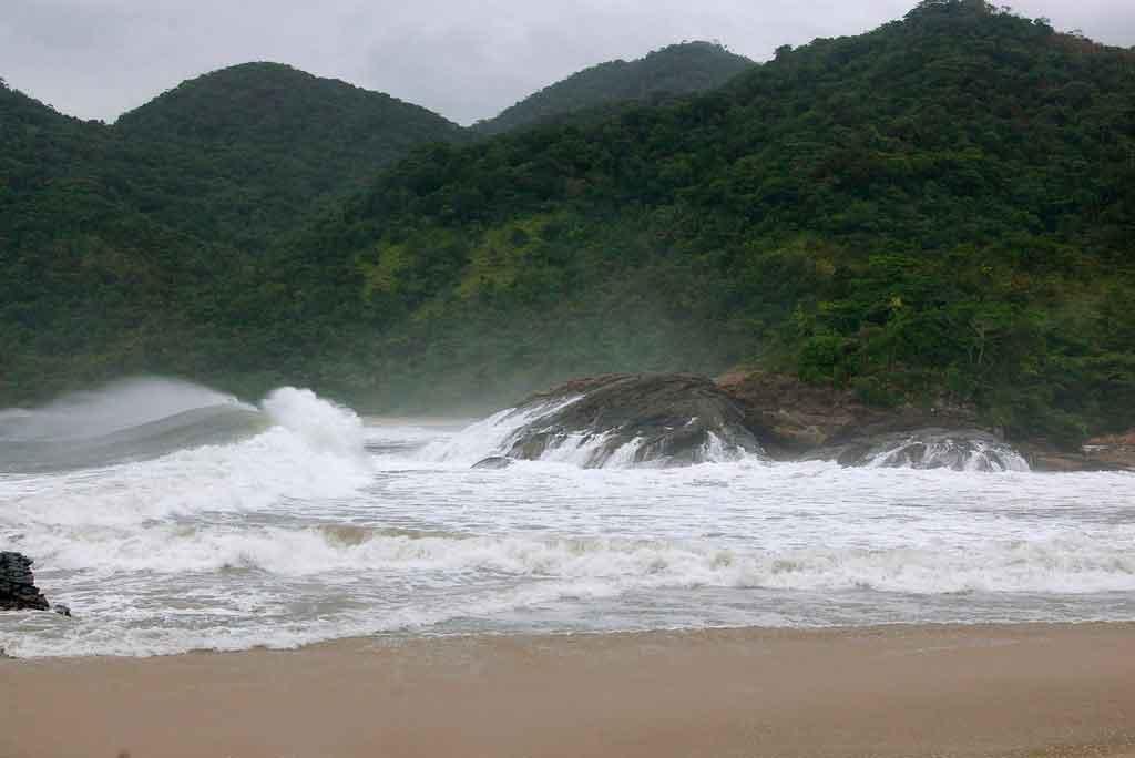 Serra da Bocaina praias