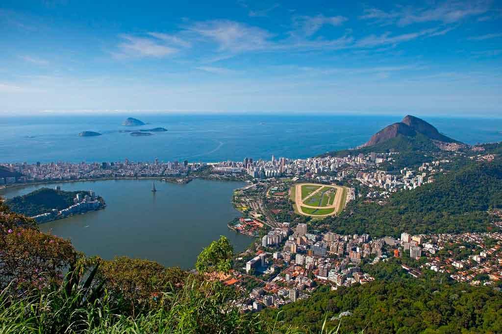 Verão no Brasil Rio de Janeiro
