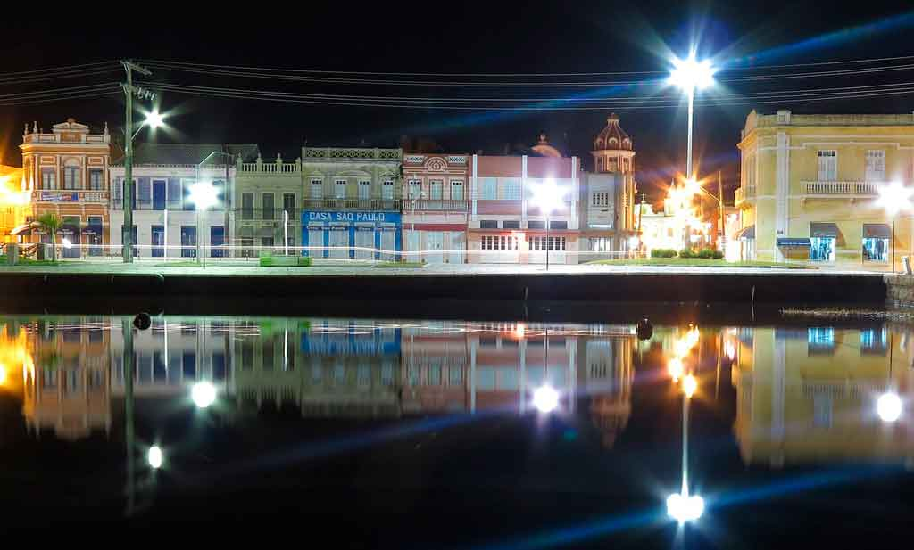 Laguna Santa Catarina centro histórico