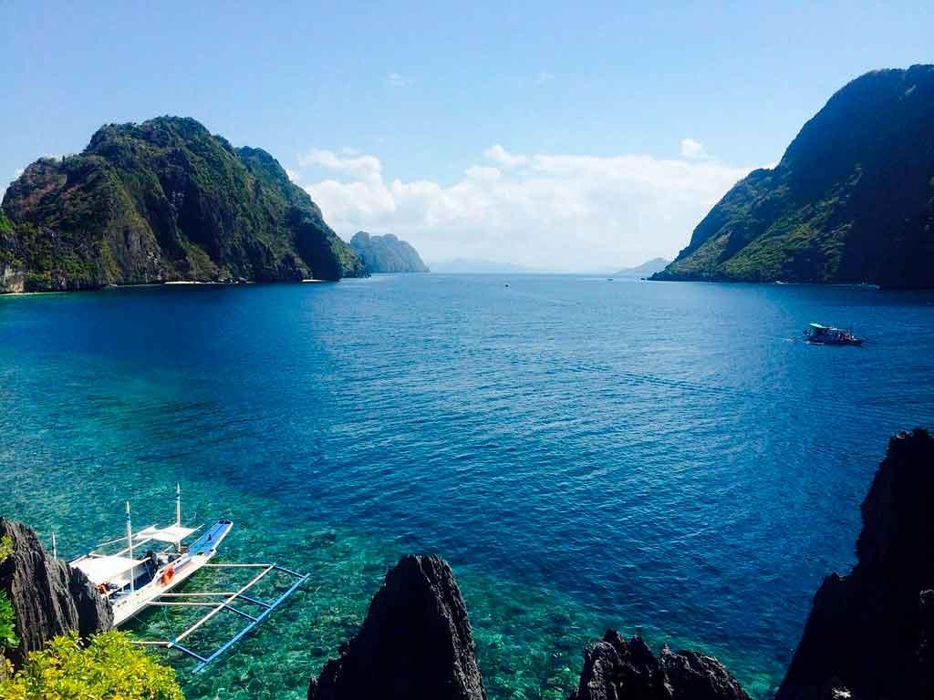 Lugares exóticos Palawan