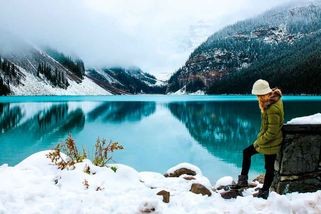 Lugares mais frios do mundo Canadá