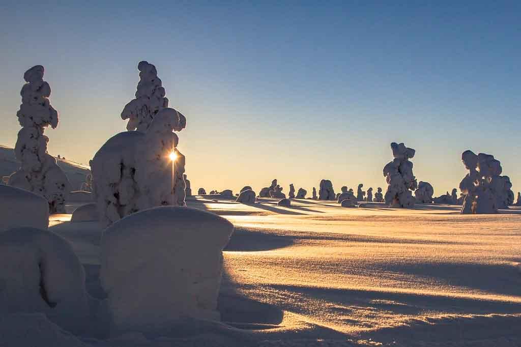 Lugares mais frios do mundo Finlândia