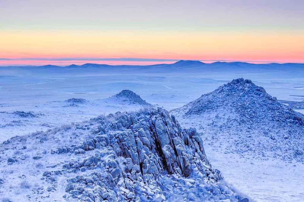 Lugares mais frios do mundo Mongolia