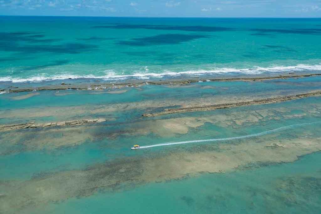 Praias de Alagoas praia de peba