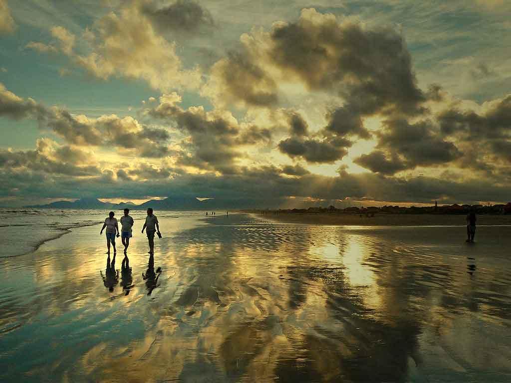 Praias de Itanhaem praia de cibratel