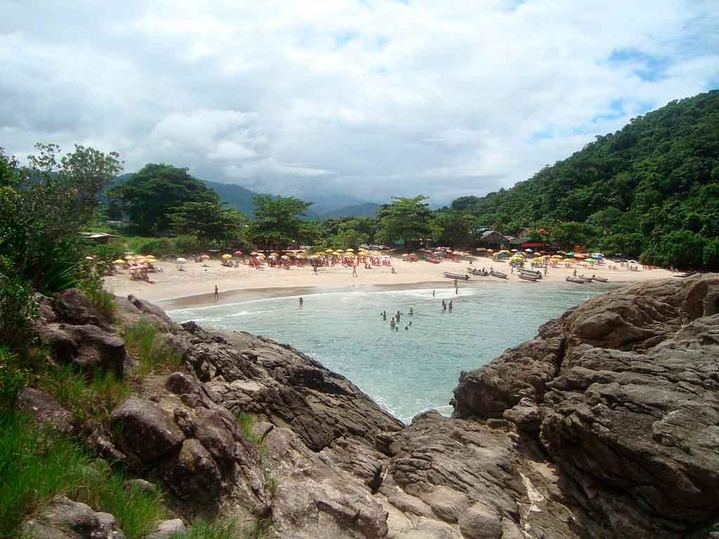 Praias de Trindade praia do meio