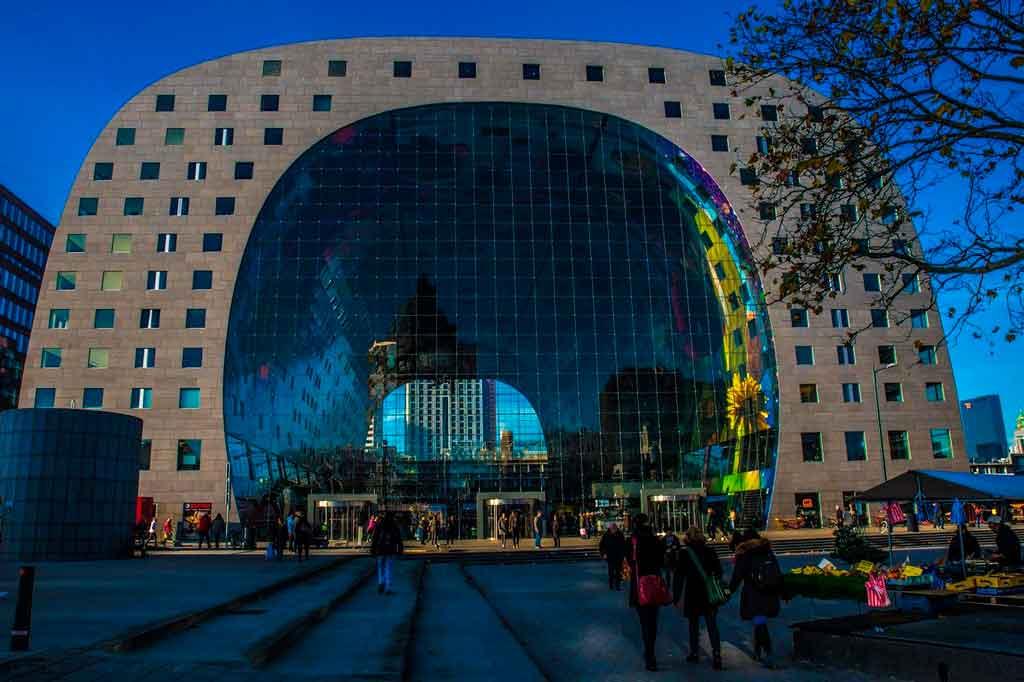 Rotterdam Holanda markthal