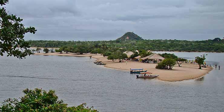 Praia do Rio Arapiuns