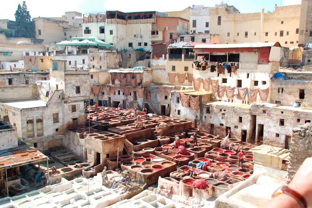 Qual era a capital do marrocos antes?