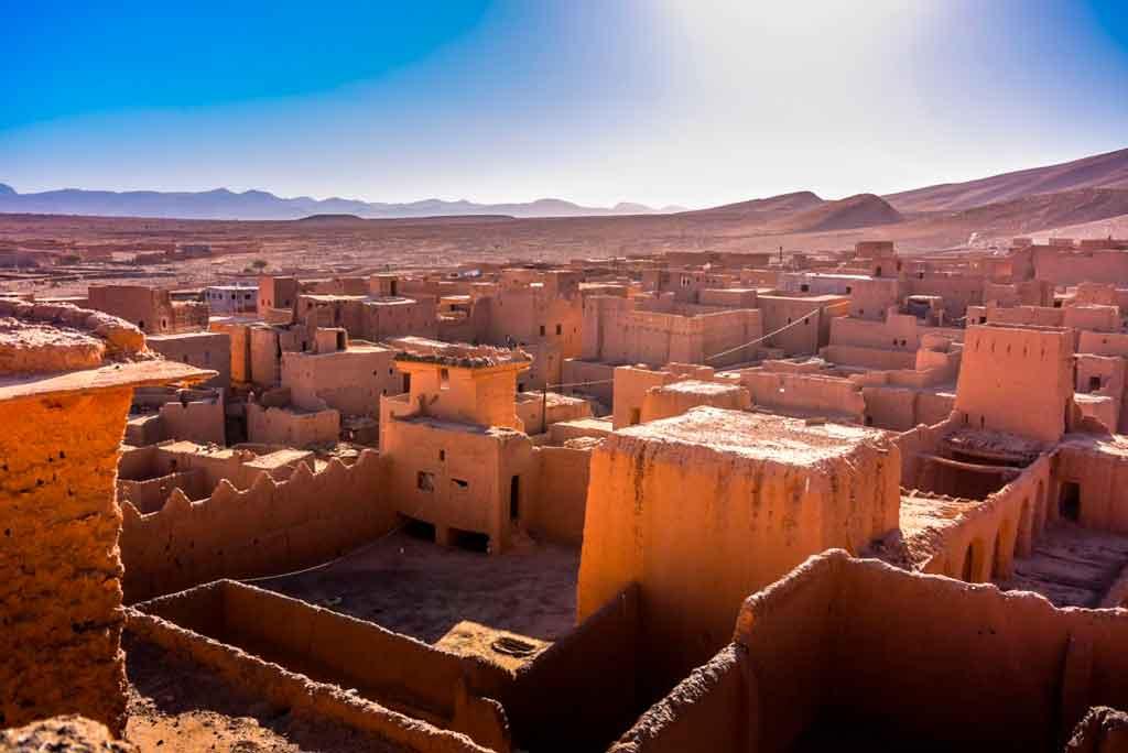 Capital do Marrocos: Kasbah dos Udaias