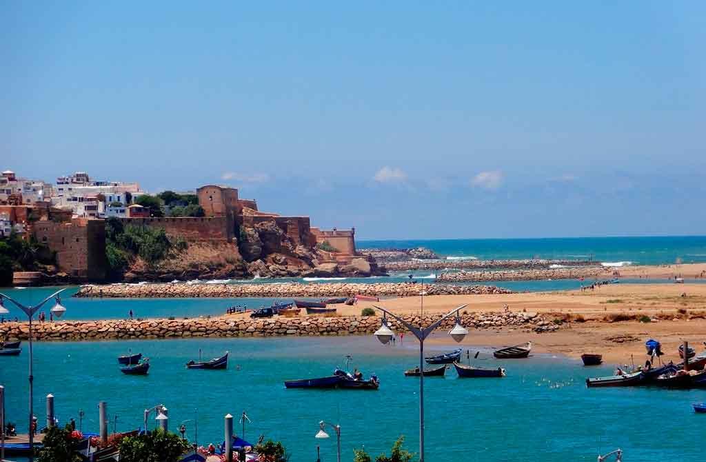 Capital do Marrocos: Rio Bouregreg