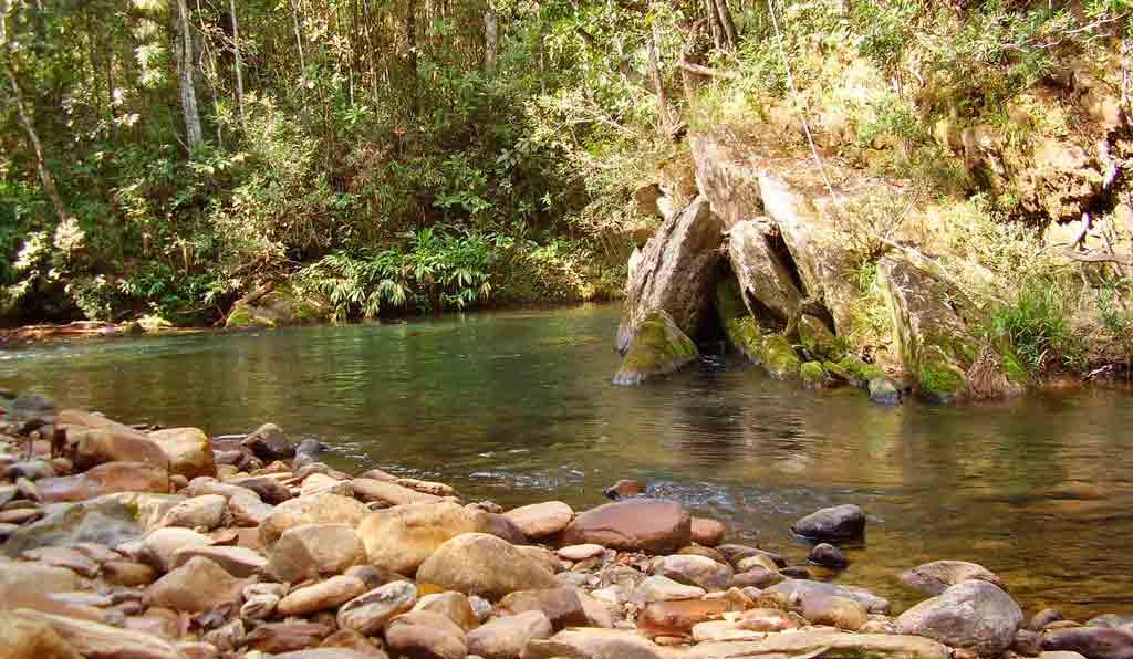 Parque Nacional cachoeira