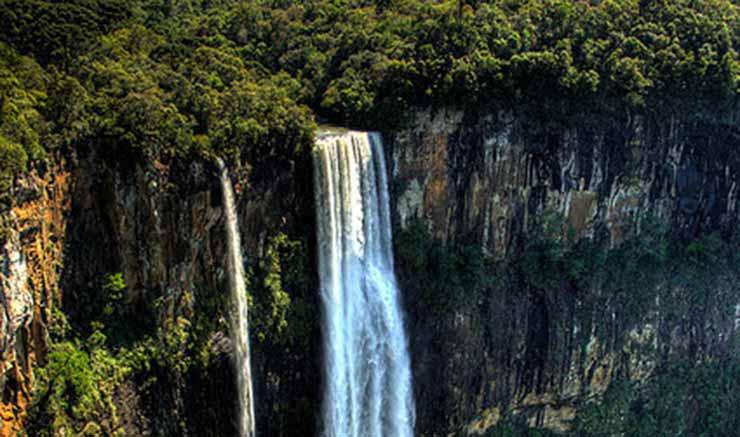 Clima em Londrina: cachoeira