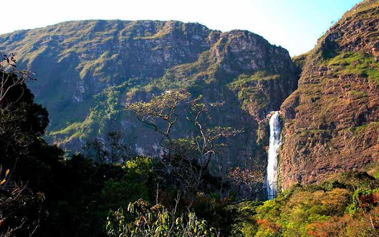 Cachoeiras na Serra da Canastra, MG