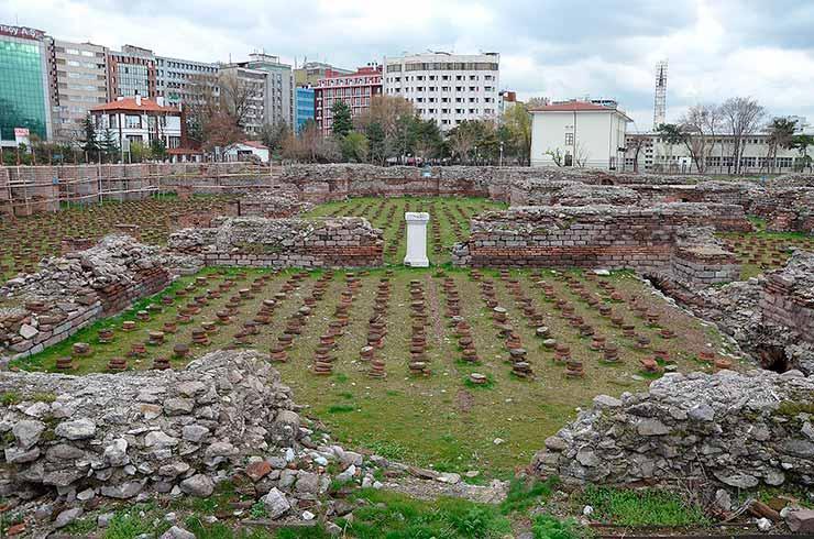 Banhos Romanos na Turquia