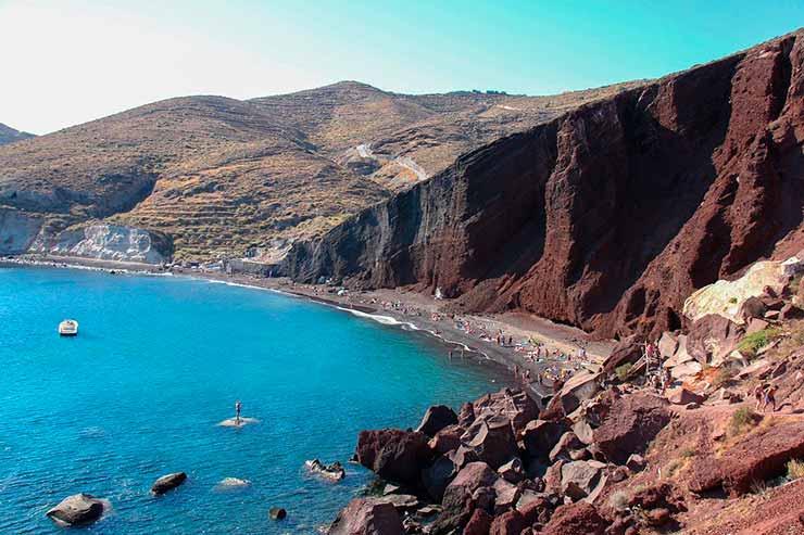 Oque fazer em Santorini Akrotiri