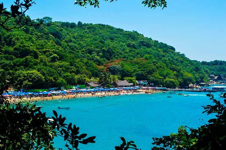 Praias de Acapulco: Playa Roqueta