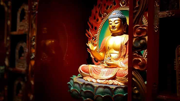 O que é templo budista?