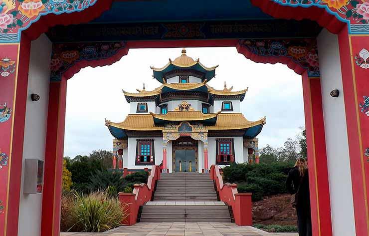 Templos budistas no Brasil: Três Coroas - RS