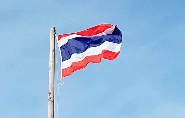 Onde fica a Tailândia no mapa?