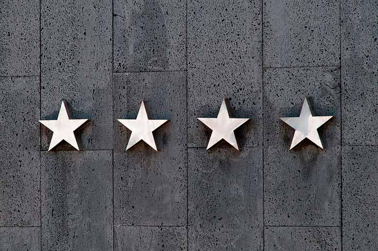 Como funciona a classificação de quartos de hotel?