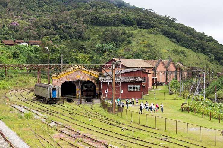 Museu Ferroviário de Paranapiacaba
