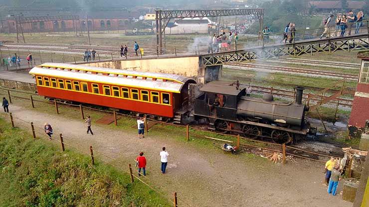 Quanto custa passeio de trem para Paranapiacaba?