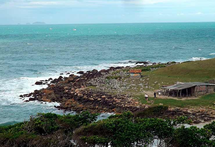 Praias Guarda do Embaú: Praia da Pinheira