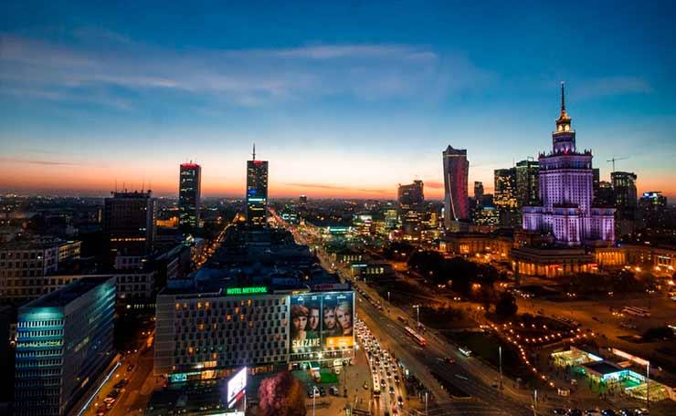 Quanto custa viajar pela Polônia?