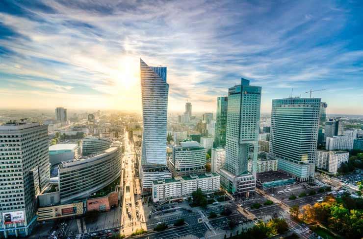 Turismo na Polônia: Varsóvia