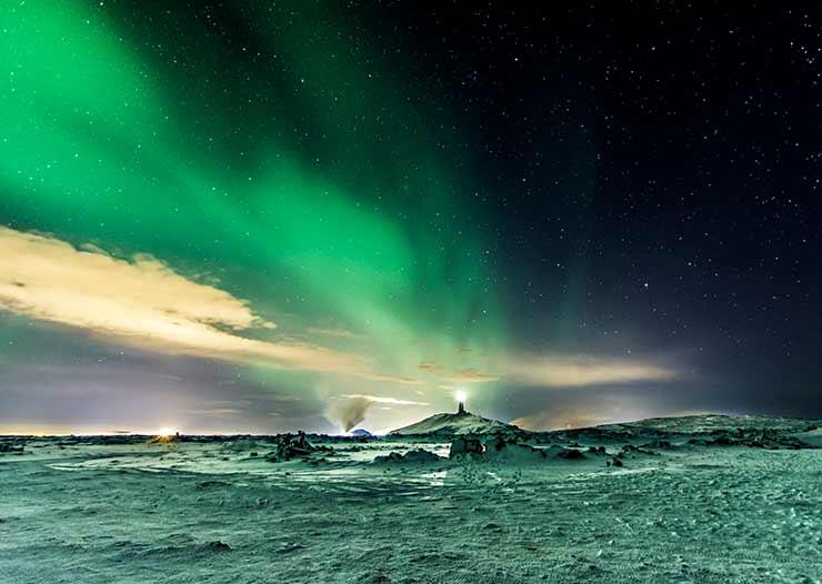 Onde fica a melhor aurora boreal?