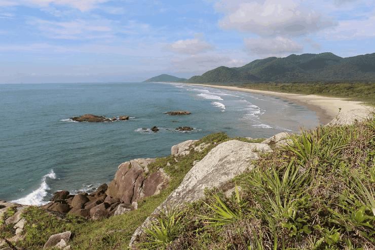 Praias Ilha do Cardoso